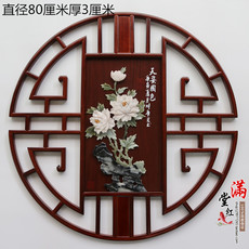 Нефритовая фигурка Донгянг резьба по дереву