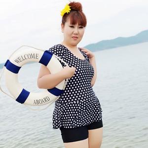 中老年泳衣加肥加大码温泉泳装女 特大码胖妈妈连体裙式泳装显瘦
