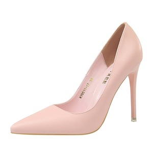 9511-17 han edition fashion simple show thin high heels for women's shoes with ultra fine with shallow mouth pointe