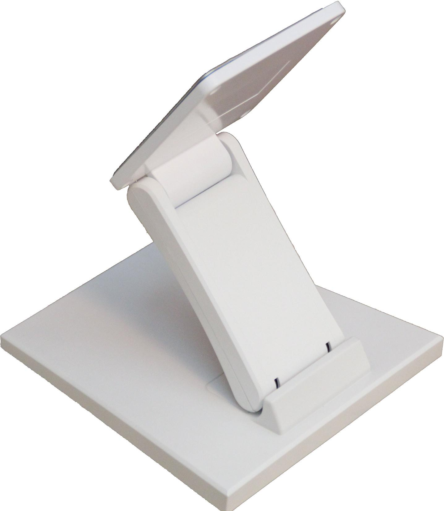 Universal Lcd Computer Display Aoc Tpv Hp Touch Desktop Stand White Patent Base