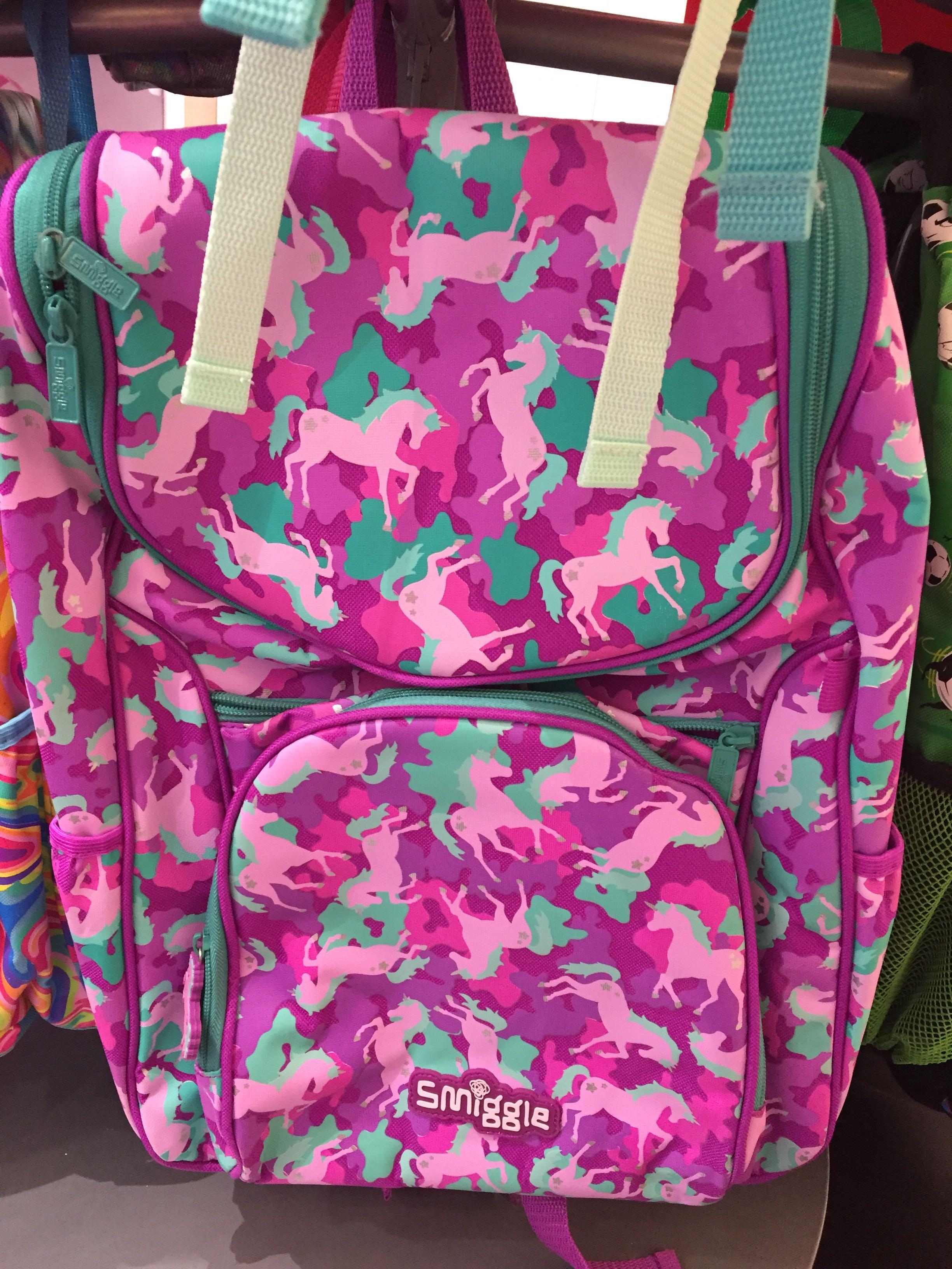 Цвет: Пони фиолетовый школьные сумки 42*30
