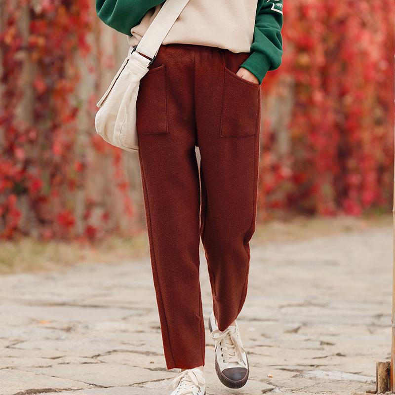 Quần harem/Quần dài nữ phong cách Nhật Bản phù hợp cho mùa xuân thu phong cách học sinh mẫu mới nhất
