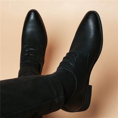 Men Fashion Leather Shoes Man Business Formal Shoes 935723