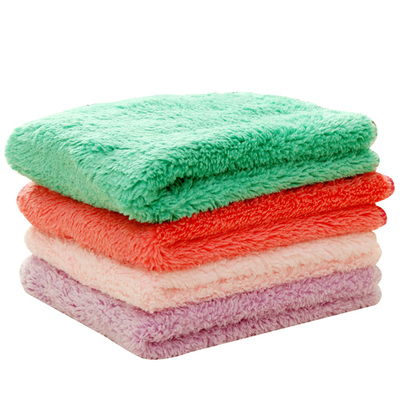 Do not touch the oil rag thickened absorbent towel kitchen supplies lint fantastic kitchen towel