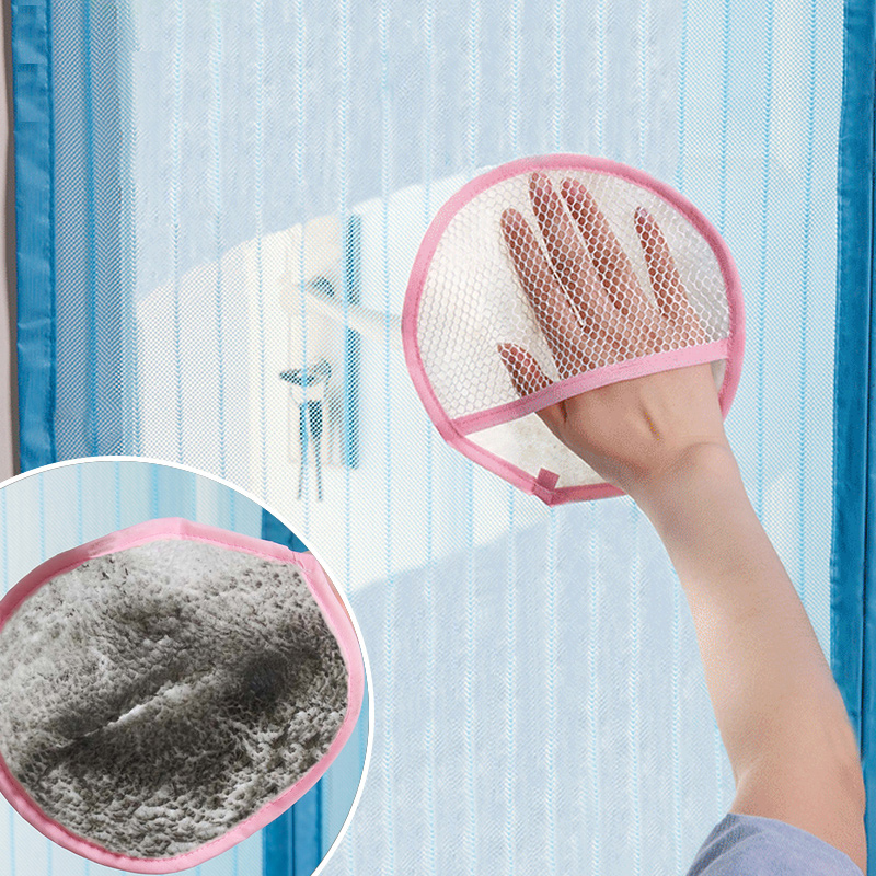Screen curtain cleaning cloth lint absorbent rags household gauze dust gloves thicker cleaning towel
