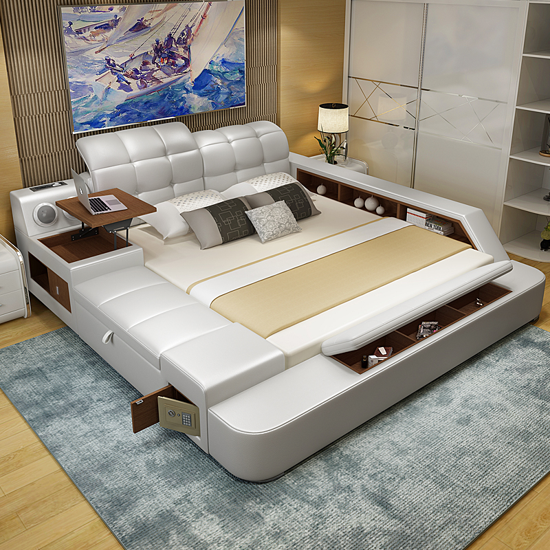 Modern Leather Beds South AfricaLeather Bed Tatami Master