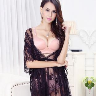 无钢圈加厚聚拢文胸套装一片式小胸mm乳罩平胸女士调整型内衣正品