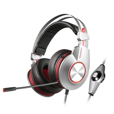 宁美国度 西伯利亚 K5台式电脑音乐游戏头戴式耳机吃鸡电竞带耳麦