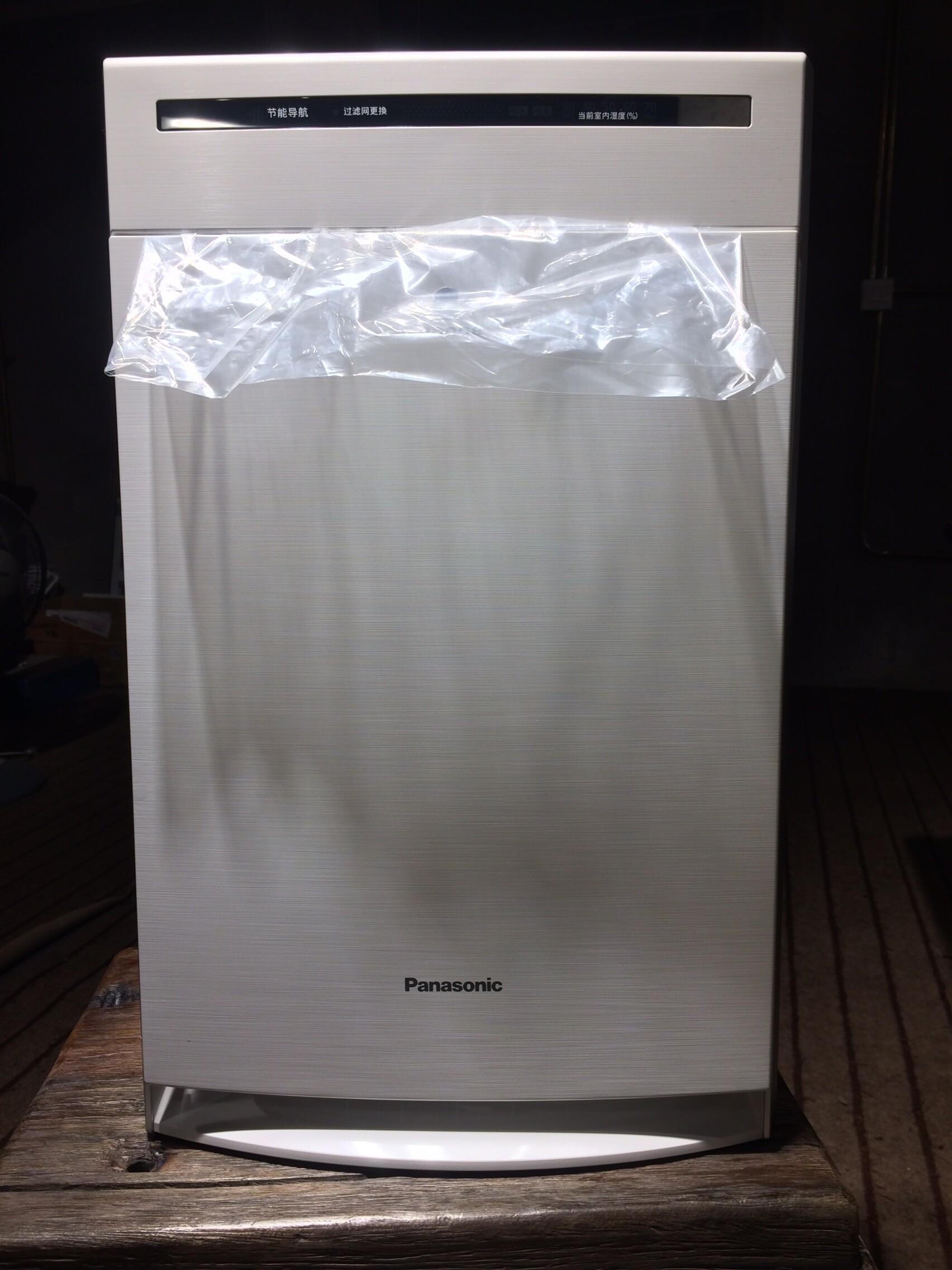 全新松下faav40v白色加湿空气净化器
