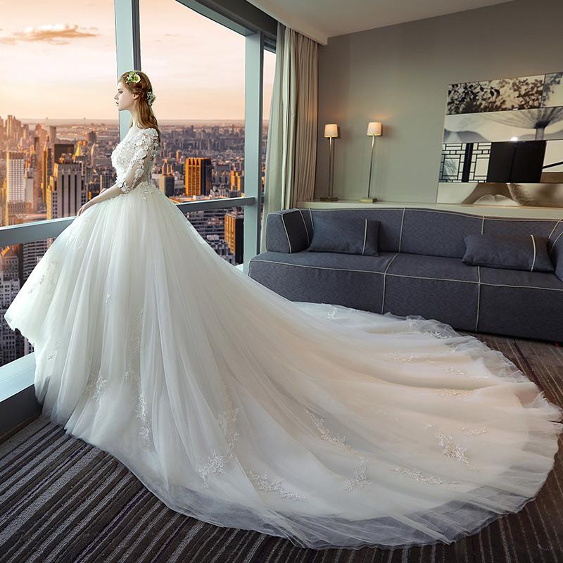Свадебное платье hs1909 2017