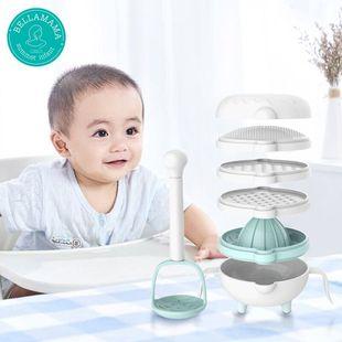 新笙记婴儿辅食研磨器套装手动食物料理辅食机宝宝辅食工具研磨碗