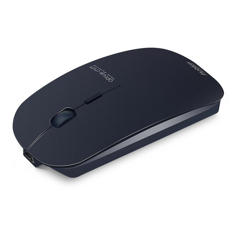 无声静音可充电无线鼠标 戴尔联想华硕苹果笔记本台式电脑女生mac