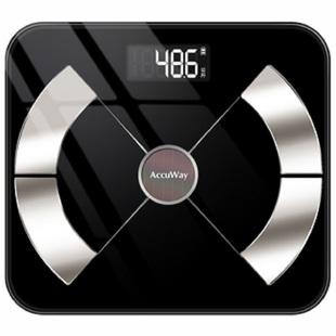 爱康唯智能体脂称电子体重秤家用人体充电精准女小型称重秤测脂肪