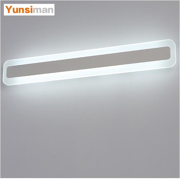 简约现代镜前灯led浴室卫生间壁灯1.2米镜灯化妆灯具防水防雾梳妆