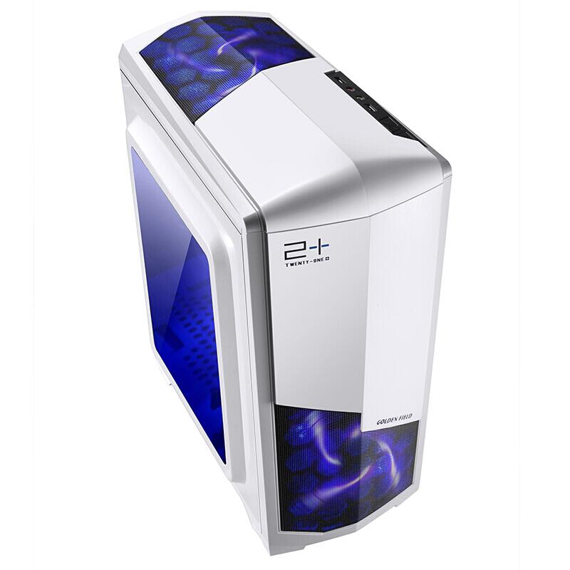 送显示器四核独显i5电脑主机吃鸡组装机 游戏办公台式整机全套LOL