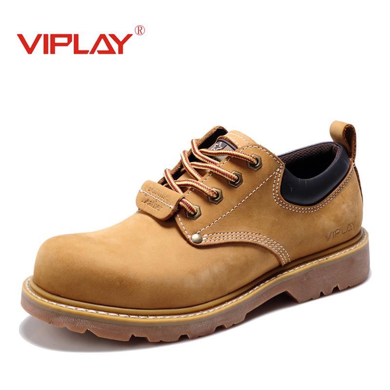 冬季男鞋大头鞋休闲鞋低帮短工装鞋靴大头皮鞋黄色马丁鞋子潮韩版