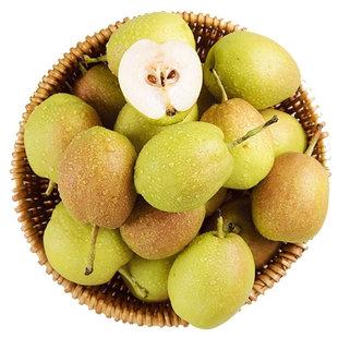 新疆库尔勒香梨5斤净重小梨子单果100g-120g当季新鲜水果整箱包邮