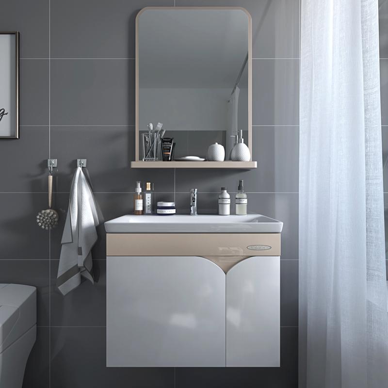 JOMOO九牧PVC浴室柜组合浴室储物柜洗漱台面盆镜柜吊柜A2169