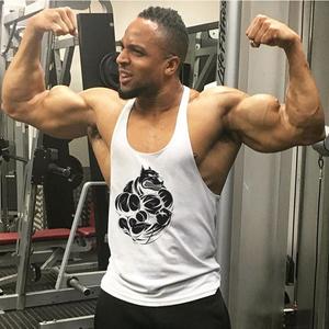 健身背心男肌肉健美兄弟运动宽松工字吊带棉吸汗透气低胸潮个性潮