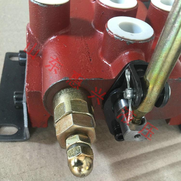 zs-118液压手动换向阀分配器控制阀多路阀单联两路阀液压阀101图片