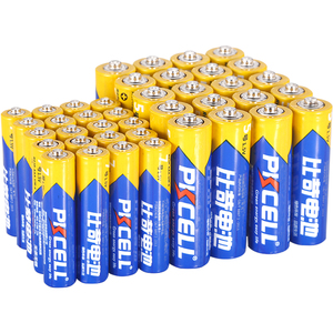 Pkcell比苛碳性电池5号7号儿童玩具闹钟遥控器七号干电池五号批发