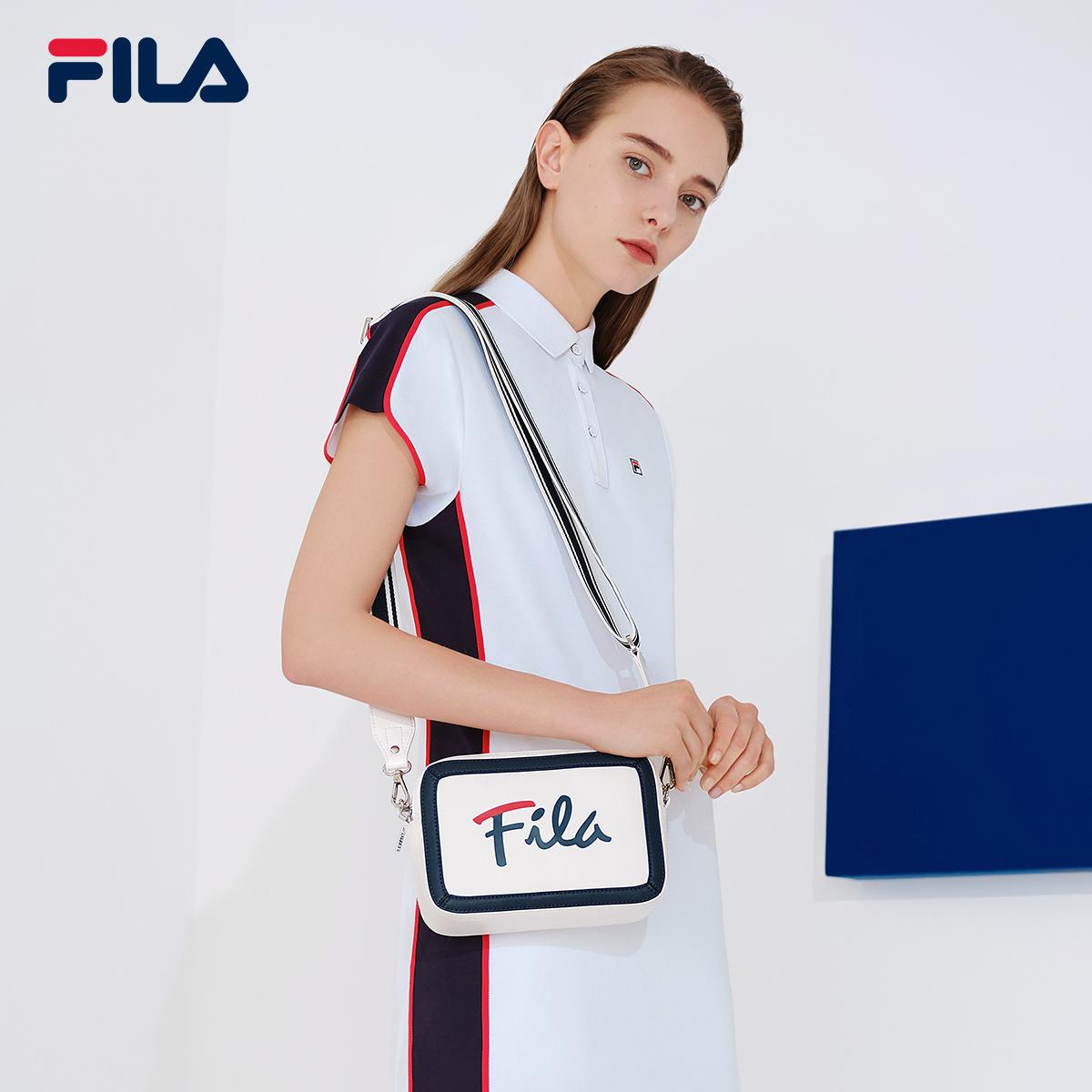 FILA 斐乐官方 女子挎包 2019秋季新款单肩包斜挎包 手拎包相机包