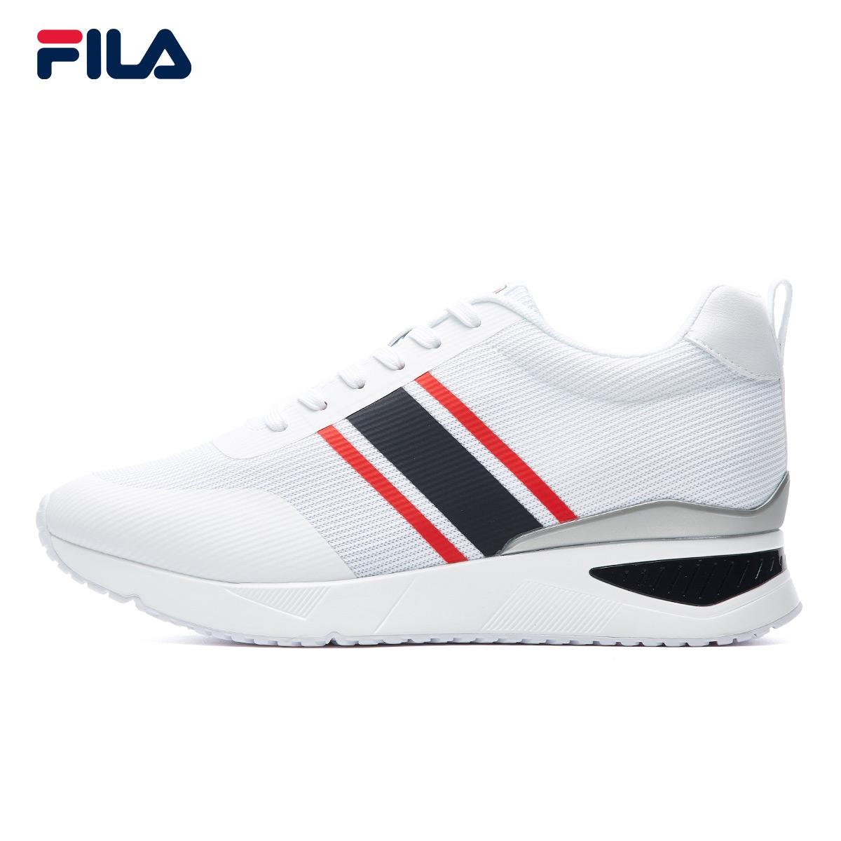 FILA斐乐女增高鞋2018夏季新款运动经典出街休闲鞋