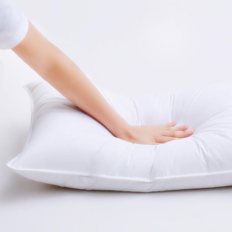 水星家纺正品枕芯高枕中枕低枕学生宿舍成人家用枕头单人枕一只装