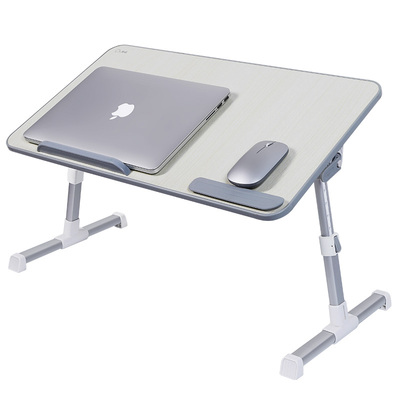 Small Bed Table Foldable and Adjustable Students Dormitory Laptop Table 016465