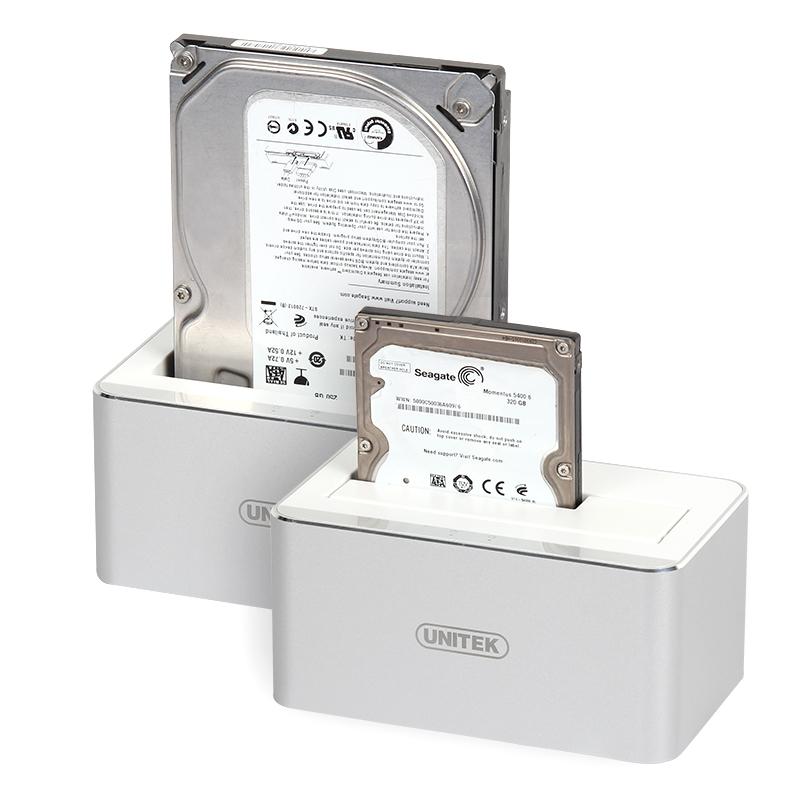 优越者移动硬盘盒usb3.0硬盘座2.5-3.5英寸外置sata台式机笔记本
