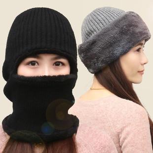 冬季口罩 保暖防寒骑行面罩全脸男女围脖护颈耳摩托车防风头套帽