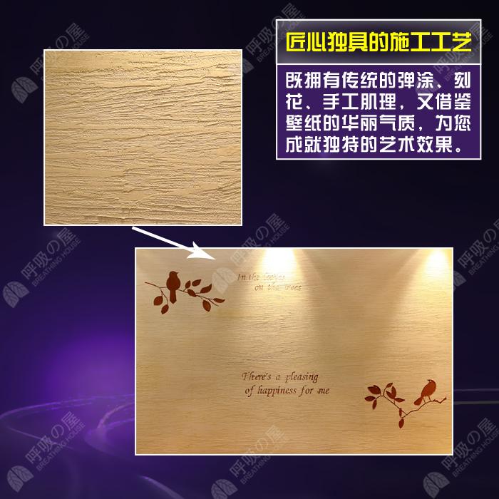 日本进口呼吸屋 1kg硅藻泥技术除甲醛 环保艺术涂料 电视 背景墙
