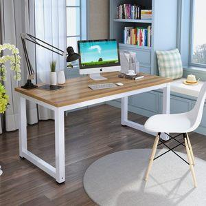 2平米 电脑桌简约现代书桌书架台式桌写字桌卧室家用简易学习桌办公桌小