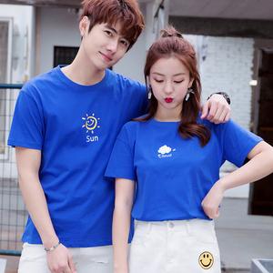 2019不一样的情侣夏装小众 设计感短袖T恤roora款气质ins韩版半袖