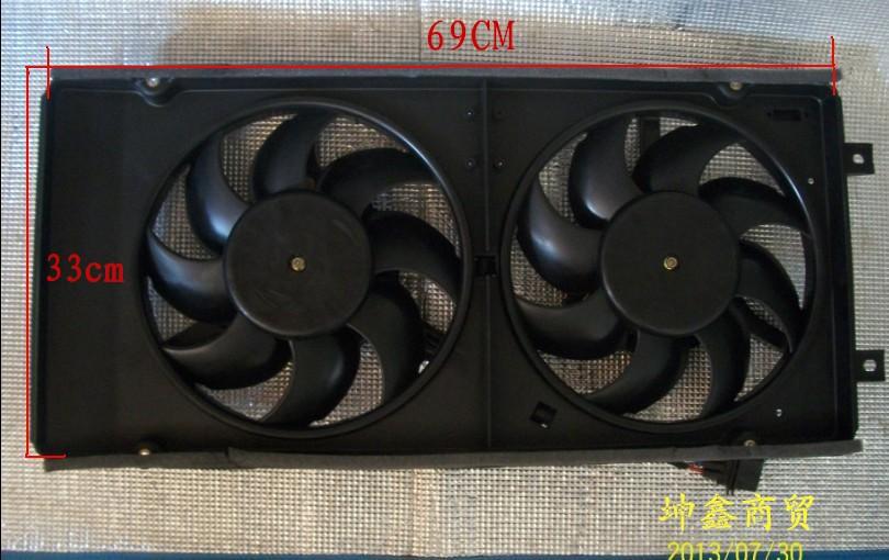 Вентилятор радиатора Jetta