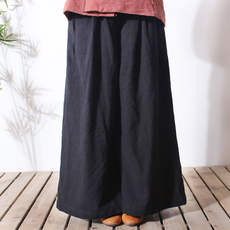 National Chinese pants Add wool/1113