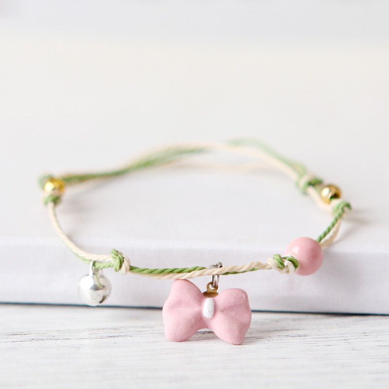 The Original manual QingGe jingdezhen ceramic bracelet with small pure and fresh and best Mr Act the role of han edition girlfriends street source