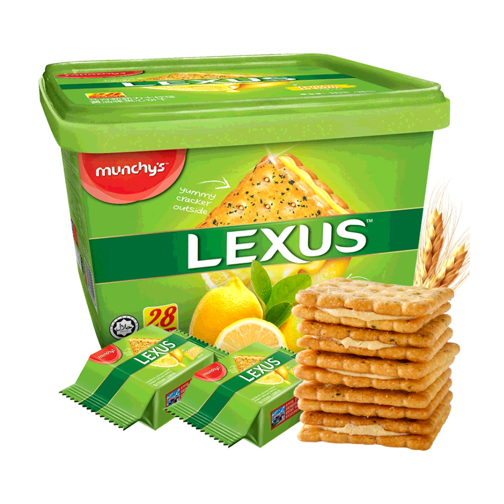 马来西亚进口 Munchy's 马奇新新 清新柠檬夹心饼干 532g盒装*4件 聚划算多重优惠折后¥89.7包邮 返12元猫超卡  88VIP会员还可95折