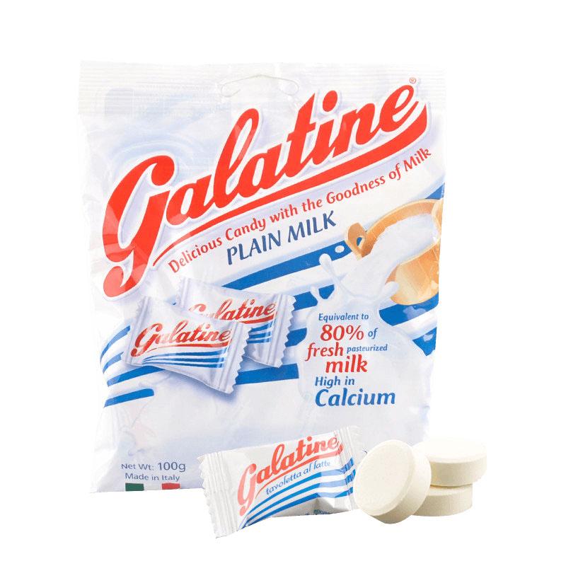 意大利进口 Galatine 佳乐锭阿拉丁牛奶片糖100g