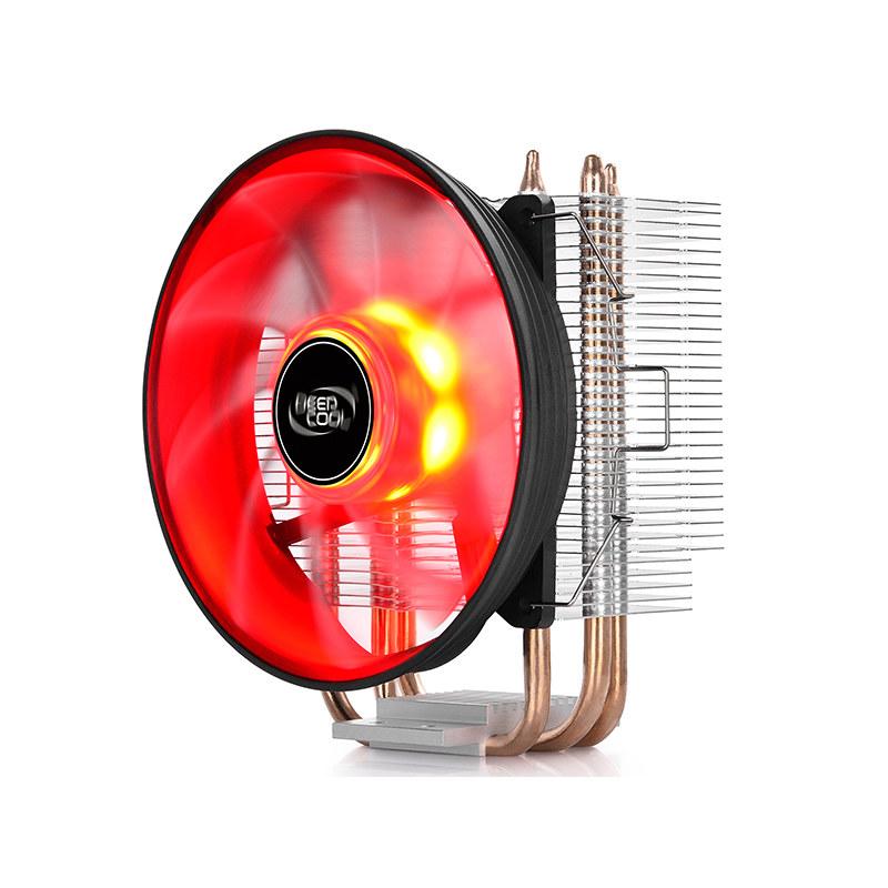 九州风神玄冰300 cpu散热器 台式机电脑 三铜管电脑风扇 115X-AMD
