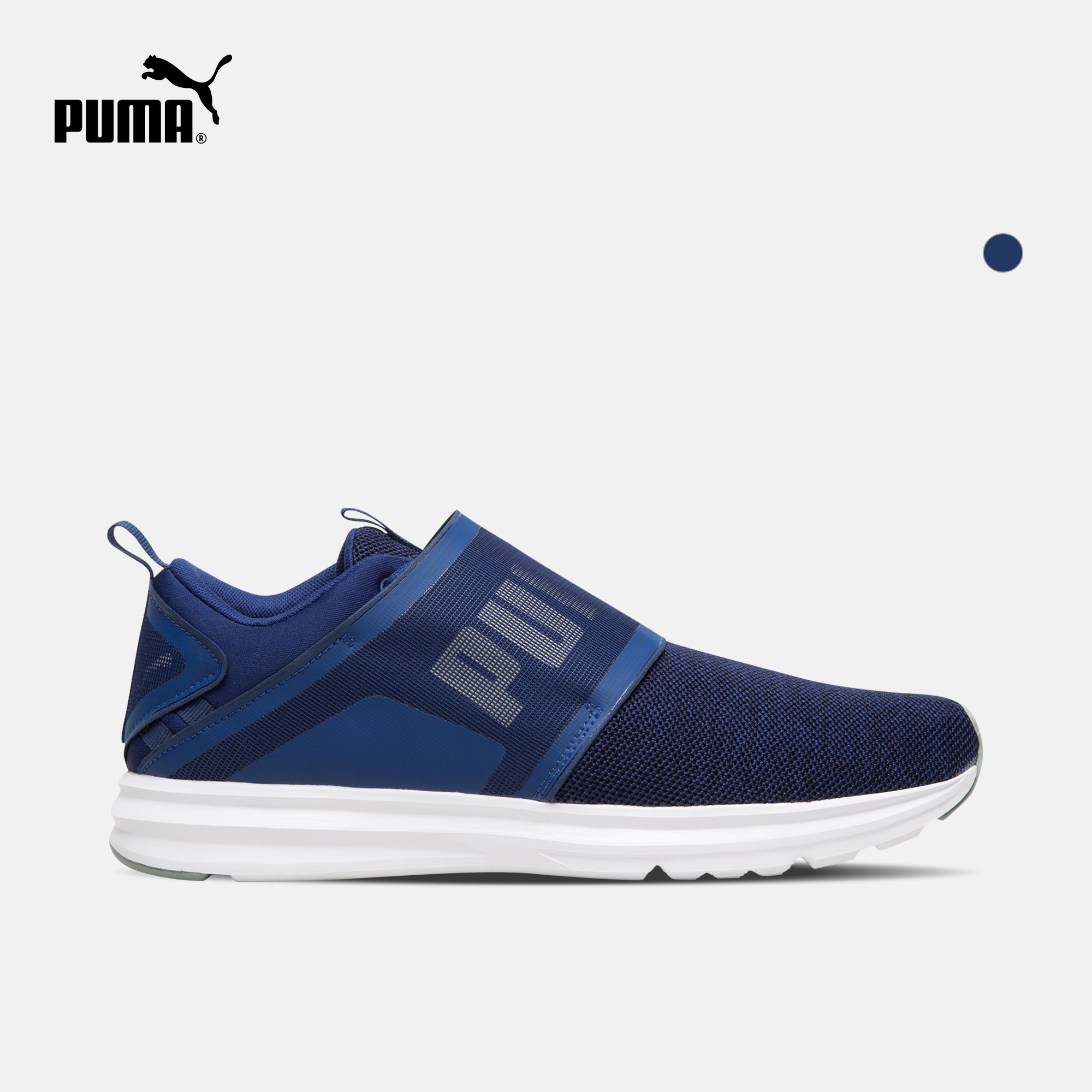 PUMA彪马官方 男子跑步鞋 Enzo Strap Knit 190029