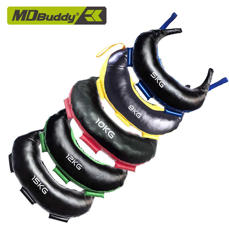 MDBuddy牛角包健身保加利亚体能训练包 深蹲负重装备健身器材