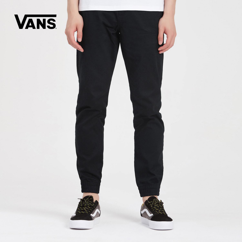 Vans 范斯官方秋季男款棕色梭织长裤 VN0A31454QF-BLK