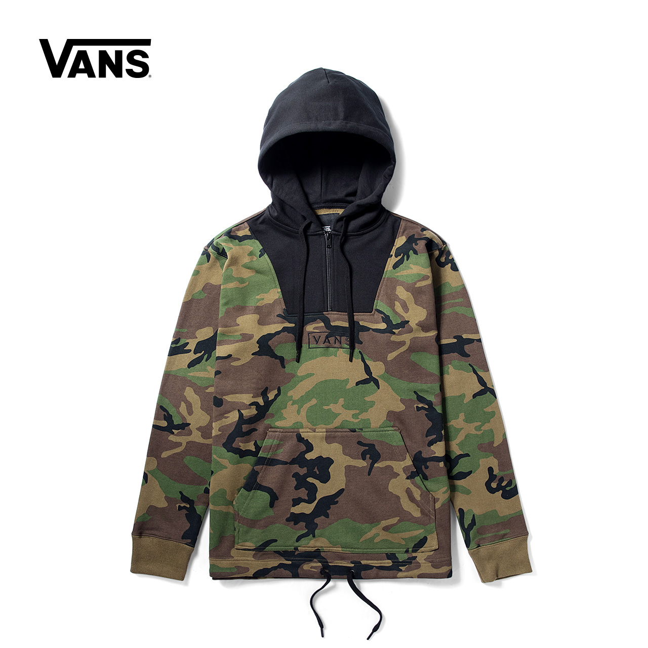 Vans 范斯官方秋季男款迷彩印花连帽卫衣|VN0A3DG6WVD