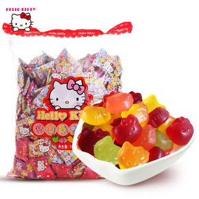 hello kitty果汁软糖1000g