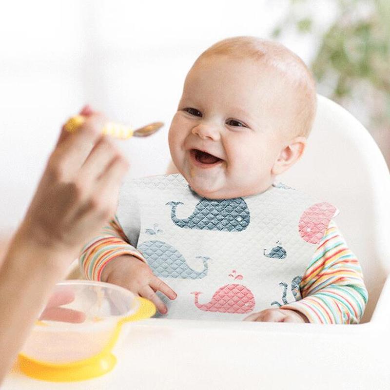 婴儿一次性围兜宝宝围嘴防水喂饭兜衣吃饭防脏神器儿童口水巾超软