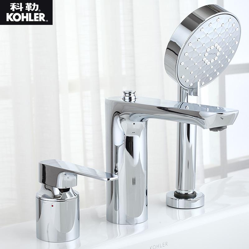 科勒龙头KOHLER三孔缸边浴缸龙头冷热水K-72330T原型号72292T