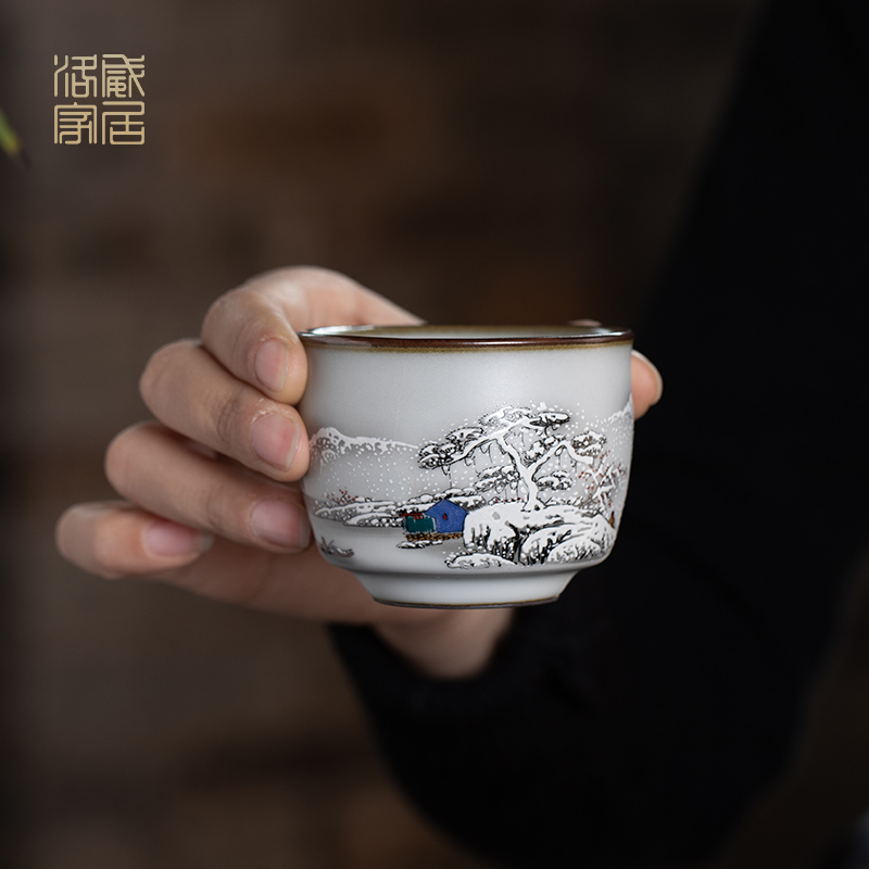 , make tea tea set household kung fu tea set your up ceramic teapot teacup tureen high - grade gift boxes