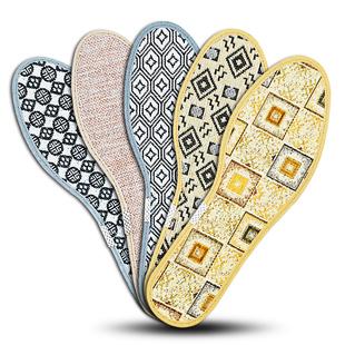 香薰除臭鞋垫男女透气吸汗防臭留香加厚保暖皮鞋运动棉鞋垫子冬季