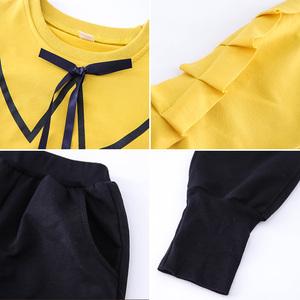 时尚城女童秋装2019运动套装新款韩版时尚洋气女孩童装中大童休闲两件套